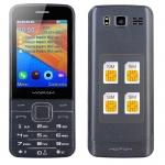 Телефон с 4 СИМ картами MAFAM V9500
