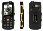 Телефон с 4 СИМ картами SERVO V3 - пыле и влагозащищённый, ударопрочный
